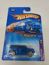 HOT WHEELS 2005  FIRST EDITIONS Blue X-RAYCERS SCION XB #3/10 w/PR5s Col#053