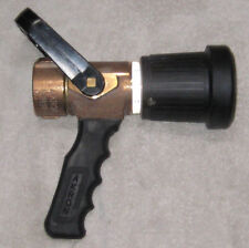 "Akron Brass Pistol Grip 1-1/2"" Fog Nozzle 3019 Water or AFF Foam New / Unused OS"