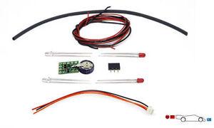 SLOT IT SISP16C UNIVERSAL LIGHTING KIT FOR ANALOG/O2/SSD NEW 1/32 SLOT CAR PART