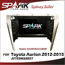 "8"" GPS SAT NAV NAVIGATION DVD IPOD BLUETOOTH RADIO FOR TOYOTA AURION 2012-2015"