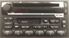 Nissan Quest Mercury Villager 99-02 OEM CD Cassette radio. Reman stereo=Perfect!