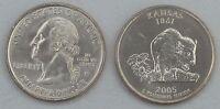 USA State Quarter 2005 Kansas P unz.