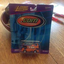 Johnny Lightning .Com Racers Y2K Orange Bus