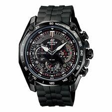 Casio Edifice Quartz Movement Black Dial Men's Watches EF550PB1A