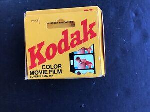 KODAK SUPER 8 mm COLOR MOVIE FILM KMA 464 KODACHROME 40 TYPE A UNOPENED-11/1998