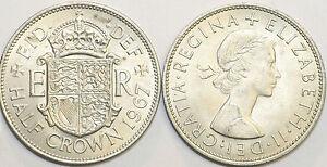 1953 to 1967 Elizabeth II Cupro-Nickel Halfcrown Your Choice of Date  / Year