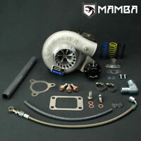 "MAMBA 12-6 Oil-Cooled Turbo For Nissan TD42 GU 3"" TD05H-18G w/ 6cm T3 GMC 3 Bolt"