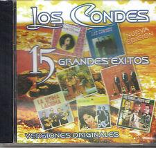 TRIO LOS CONDES - 15 EXITOS - CD
