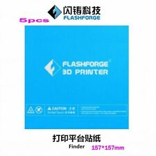 5pcs Flashforge 3D printer print sticker build plate tape for Finder