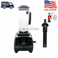 2L Heavy Duty Commercial Blender w/ Timer 2200W BPA-Free Fruit Juicer T5200 paUS