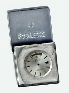 Factory-Orig. NOS Rolex 18K Day-Date President 1803 1807 Non-Lume Pie-Pan  Dial