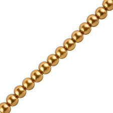 """Pearl Glass Beads Round Peru - 8mm (Sold on 16"""" Strand) (H45/2)"""