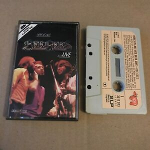 The Bee Gees-Here at Last-Bee Gees Live-Cassette Tape-1977