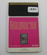 Galaga '90 TurboGrafx Turbo-Grafx  Hu-Card HuCard only USA g330
