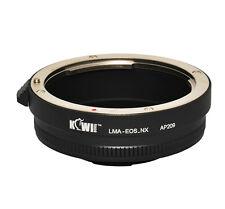 UK MAGAZZINO! cameraplus ® LENS MOUNT ADAPTER-Canon EF Lente su Samsung NX Mount