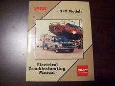 gm gmc service manual 1988 light duty trucks electrical troubleshooting 88 s15 s