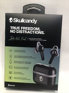 """Skullcandy Indy ANC Fuel Noise Canceling True Wireless Earbuds - Black """"NEW"""""""