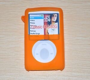 Silicone Rubber Skin Ultra Soft Gel for iPod Classic Video 5th 30 80GB 7th 160GB