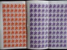 1960 - ESPAÑA - EDIFIL 1296/1297 - SAN VICENTE DE PAUL - PLIEGOS
