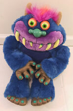 My Pet Monster TALKING Plush Vintage Electronic Toymax Inc. 2001 Tested Working