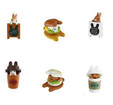 Epoch Rabbit Cafe Cute Blind Box Animal Gashapon 1 Random Capsule Toy  Figure