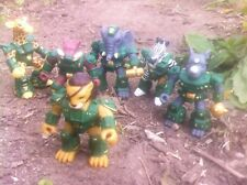 Battle Beasts Laser Beasts Savannah Lords lot of 6 American made