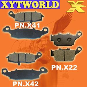 FRONT REAR Brake Pads for SUZUKI SFV 650 Gladius 2009-2011 2012 2013 2014 2015
