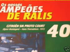 FASCICULE 40 RALLYE BOOKLET CITROEN SM PROTO COURT