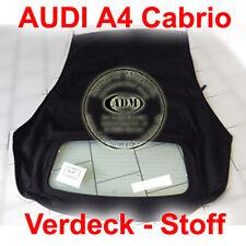 "Audi A4 Cabrio Verdeck ab 2002-2009,schwarz B6 B7 8H7 8HE ""MODIFIZIERT"" NEUWARE"