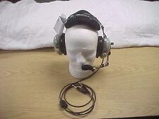New David Clark GAN76 General Aviation Headset with Volume Control Gel Ear Seals