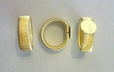 1 BASE PER ANELLO CON FASCIA A MOLLA COLOR ORO BASE 12 mm NICKEL FREE