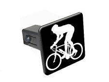 "Mountain Biker - 1 1/4 inch (1.25"") Trailer Hitch Cover Plug Insert"