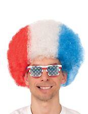 TEAM USA AFRO COSTUME WORLD CUP 2014 WIG - USA PRIDE Brand New