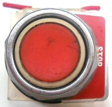 SQUARE D PUSHBUTTON 9001, KA1, SER K (RED)
