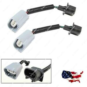 2pcs H13 9008 Extension Wiring Harness For LED Fog Light High/Low Beam Headlamps