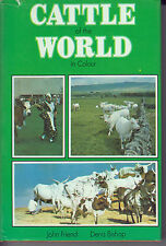 Cattle of the World in Colour - HC w/DJ 1978 Illustrated - HTF & OOP - J. Friend
