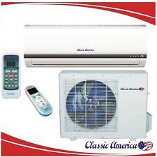 12000 BTU Ductless Mini Split Air Conditioner Heat Pump 1 Ton 16 SEER 12,000 AC