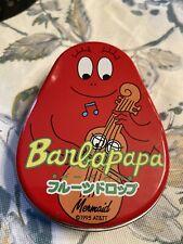 Vintage Barbapapa small tin Mermaid 1995