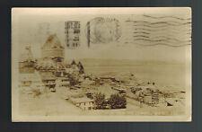 1939 Quebec Canada RPPC Postcard Cover to Uruguay Citadel View