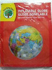 Inflatable Globe ,11.5 In ( 29.2 Cm ), Teaching Tree ,New