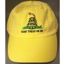 DON'T TREAD ON ME yellow CAP HAT NEW