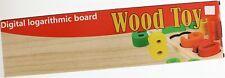 Digital Logarithmic Board Wood Toy