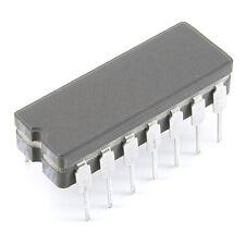 [4pcs] SN54LS38J Quad NAND Buffer DIP14C TI