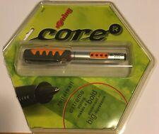 rOtring Core Eternium Rollerball Pen Gray Orange Silver VERY RARE