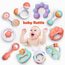 10 stk Baby Spielzeug Motorik Rasseln Greiflinge Rassel Babyrassel hängen Glocke