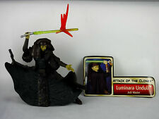 STAR WARS SAGA Loose Figure Toy MINT Pack Fresh - LUMINARA UNDULI Jedi Master