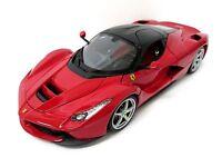 Bburago 1:18 Ferrari Laferrari Signature Diecast Model Racing Car Red NEW IN BOX