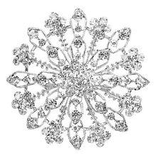 Bridal Brooch Pin V8B8 Gorgeous Floral Wedding Prom