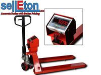 Selleton Ps-5000pj Industrial Warehouse Pallet Jack Scale With 5000 X 1 Lbc