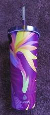 NWT Manna Chilly Tumbler Cold Insulated * 24oz * Purple Pink Orange Yellow